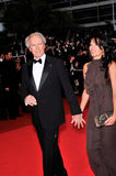 Clint Eastwood,Dina Eastwood Royalty Free Stock Images