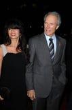 Clint Eastwood, Dina Eastwood Στοκ φωτογραφία με δικαίωμα ελεύθερης χρήσης