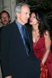 Clint Eastwood, Dina Eastwood Στοκ Φωτογραφία
