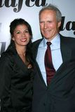 Clint Eastwood,Dina Eastwood Stock Image