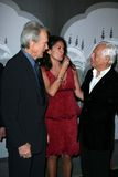 Clint Eastwood,Dina Eastwood,Giorgio Armani Royalty Free Stock Photos