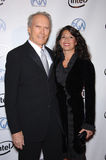 Clint Eastwood,Dina Ruiz Stock Photo