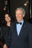 Clint Eastwood,Dina Ruiz Royalty Free Stock Photo