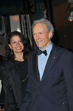 Clint Eastwood,Dina Ruiz Royalty Free Stock Photos