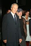 Clint Eastwood, Steven Spielberg Στοκ Φωτογραφία