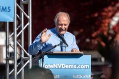 RENO, NV - October 25, 2018 - Clint Koble waving at a political royalty free stock images
