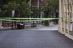 clinton πλημμυρισμένη βασική οδό&si Στοκ φωτογραφίες με δικαίωμα ελεύθερης χρήσης