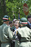 clinton τα μέλη Χίλαρυ στρατιωτι& Στοκ εικόνα με δικαίωμα ελεύθερης χρήσης
