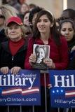 clinton συνάθροιση Χίλαρυ Στοκ εικόνα με δικαίωμα ελεύθερης χρήσης