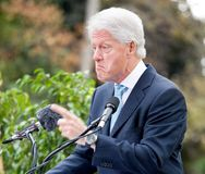 Clinton 5 rachunek fotografia royalty free