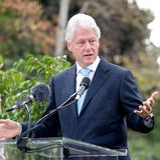 Clinton 8 rachunek Zdjęcia Royalty Free