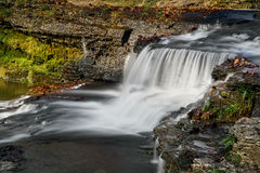 Clinton Falls van Indiana stock foto's