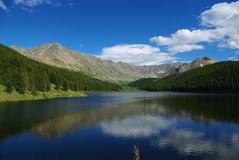 Clinton Gulch Dam Reservoir, Colorado Royalty Free Stock Images
