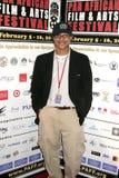 Clinton H. Wallace bij de Pan Afrikaanse Première van het Festival van de Film van ?Layla?. Het Theater van het Plein van Culver,  royalty-vrije stock foto