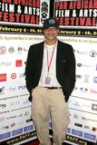 Clinton H. Wallace at the Pan African Film Festival Premiere of 'Layla'. Culver Plaza Theatre, Culver City, CA. 02-13-09 Royalty Free Stock Photo