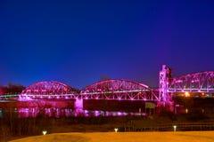 Clinton Library Bridge Stockfoto