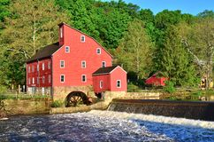 Clinton Mill in Clinton, New Jersey Stock Photography