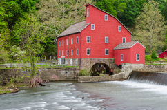 Clinton Mill in Clinton, New Jersey, USA Royalty Free Stock Images