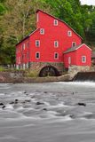 Clinton Mill in Clinton, New Jersey, USA Stock Photography