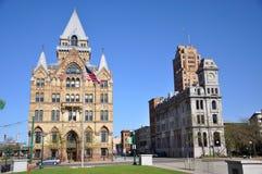 clinton nowy kwadratowy Syracuse York Obrazy Stock