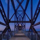 Clinton parka Prezydencki most Obraz Royalty Free