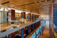Clinton Presidential Library royaltyfria foton