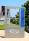 Clinton Presidential Park Bridge Photos stock