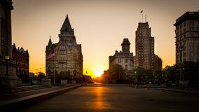 Clinton Square Syracuse New York Fotografia de Stock