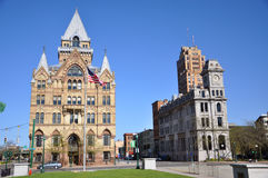 Clinton Square, Syracuse, New York Stock Images