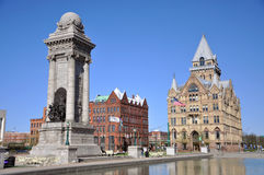 Clinton Square, Syracuse, New York Stock Photos
