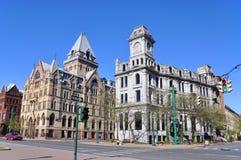 Clinton Square, Syracuse, New York State Royalty Free Stock Photos