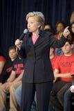 clinton wiec Hillary obrazy stock