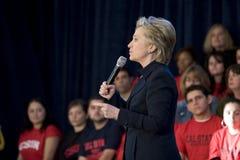 clinton wiec Hillary zdjęcia stock