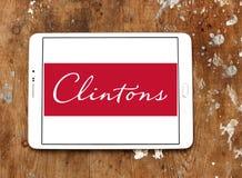 Clintons carda il logo Fotografie Stock Libere da Diritti