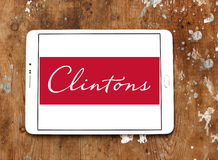 Clintons carda o logotipo Fotos de Stock Royalty Free