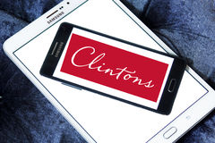 Clintons carde le logo Image libre de droits