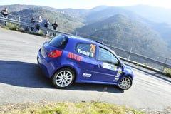 Clio Renault Rally Car Royalty Free Stock Photos