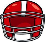Clip art americano del casco de fútbol americano Fotos de archivo