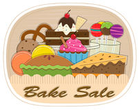 Bake Sale Stock Photo