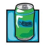 Clip art beer can Stock Photos