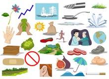 Clip Art Compilation immagini stock libere da diritti