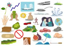 Clip Art Compilation Royalty Free Stock Images