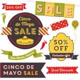 Clip art de Cinco De Mayo Sale stock de ilustración