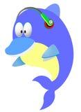 Clip art del delfín stock de ilustración