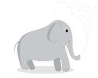 Clip art elephant Stock Photography