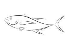 Clip art fish, vector Stock Images