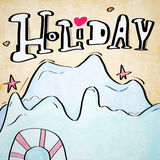 Clip art  holiday Stock Image