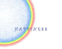 Happiness Rainbow Clip Art Stock Photography