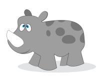 Clip art rhino Stock Image