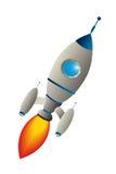 Clip art rocket Stock Image